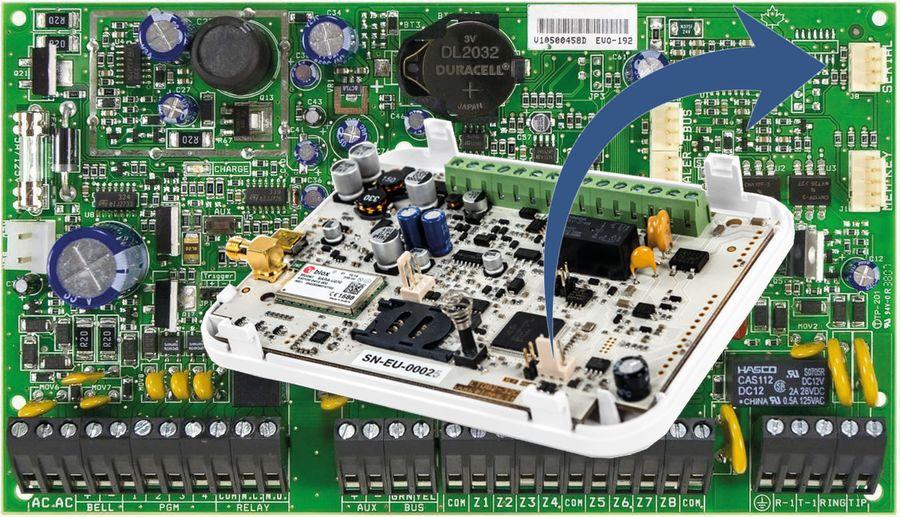 ET083 - levný systémový komunikátor k ústřednám PARADOX