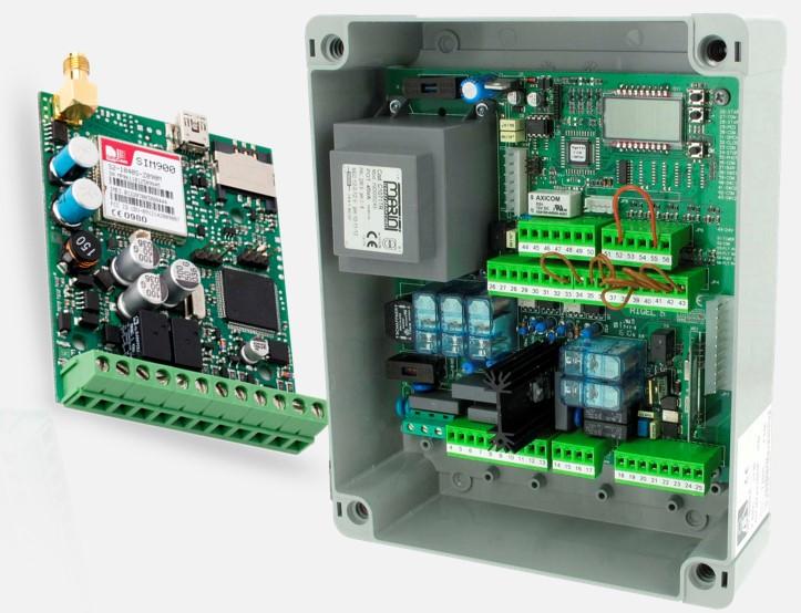 Jak na automatické ovládání pohonu vrat s ESIM320
